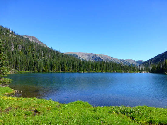 Grand Lake (4,755') in Olympic National Park
